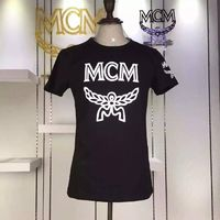 MCM Logo Style 01 Short Sleeves T-Shirt In Black