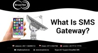 What is the SMS gateway and what are its benefits can be seen only after its implementation along with SMS API service for your business via Broadnet Technologies