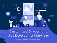 World Web Technology is an on-demand mobile app development company in India, USA. Build easy-to-access customizable apps from on-demand app developers.