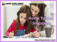 Looking for home tuitions in Singapore where your kids can get one-to-one attention in every subject? If so; Sapient Tutors is the best institute to handover your kids' educational requirements! It is the most recognized educational institute for pr...