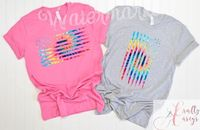 Distressed Retro Tie-Die Flag. Bella+Canvas Tanks �'�1320.00