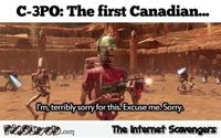 CP30 the first Canadian humor