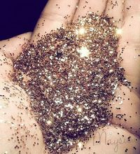 OMG best. Thing. I've. Ever. Pinned. 1/4 cup sugar and 1/2 teaspoon of food coloring mixed, bake10 mins in oven on 350* to make edible glitter