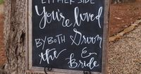 Check out these cute and clever signs for your wedding decor   JoPhoto
