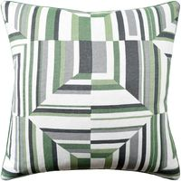 Cubism Green Pillow by Ryan Studio $200.00