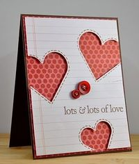 heart cards, valentine cards and valentine day cards.