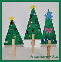 Christmas Craft Ideas for Kids. So easy and cute!
