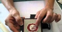 video tutorial of Posted Note holder frenchiestamps.com