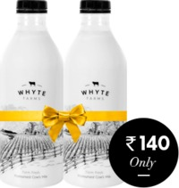 Buy organic cow milk in Delhi NCR. Switch to Whytefarms for best quality, 100% pure & untouched desi cow milk in Delhi