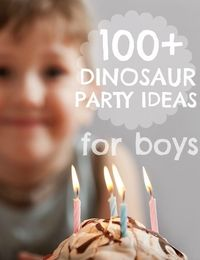 Over the years, we've featured some amazing dinosaur birthday party ideas on this blog. It's such a classic theme for a boy birthday party. From dinosaur egg hu