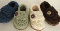 Baby Boy Button Loafers - Made to Order from Etsy