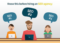 Before #hiring an #SEO #agency or a Freelancer, you should do your homework as what questions you need to ask before hiring them for better results & improved ROI.
