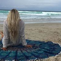 Beach Cover Up Bikini Boho Summer Dress Swimwear Bathing Suit Kimono Tunic $32.00