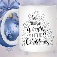 Christmas Coffee Mug Christmas Gift Gift For Friend Best Friends Gift Ceramic Cup BFF Gift Christmas Gifts For Her Custom Coffee Mug $16.73