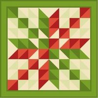 myQuiltGenie Blog: Scrappy Arrowhead Quilt tutorial