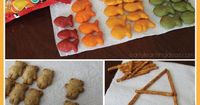 Snack time, in particular, can be a great time to work on some early learning concepts. Here are several ideas for snack time learning. Ideas include counting,