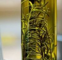 Rosemary Infused Olive Oil- I love this for sauteing salmon filets. Top with a little squeezed lemon! Yum!