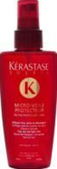 Kerastase Soleil Micro-Voile Protecteur Spray Kerastase Micro-Voile Protecteur is an anti-photo degradation sun care treatment for coloured hair with low sensitivity. This transparent, non greasy spray protects hair exposed to the sun, sea and ch http://w...