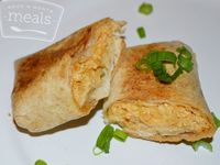 Chicken Chimichangas #wwpointsplus #ww360 #diet #freezermeals