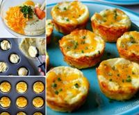 These Cheesy Mashed Potato Muffins will be a huge hit in your home and they take no time at all to whip up in your muffin tin! The recipe uses Cheddar Cheese an