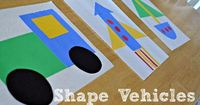 Away We Go - learning shapes with vehicles