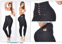100% Authentic Colombian High Waist Push Up Jeans 6260 by Posesion $89.99 Visit www.jdjeans.com to get yours today!