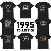 1995 Birthday Gift, Vintage Born in 1995, 25th Birthday shirt for him Her, Made in 1995 T-shirt, 25 Year Old Birthday Shirt for Men Women $19.99