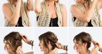DIY a twisted updo with this tutorial.