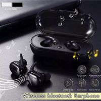 Portable Touch Control Wireless Bluetooth Earphone Stereo Music Earphone Headphone with Mic for Xiaomi Huawei IOS