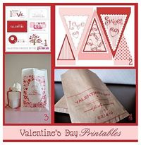 Valentines day printables! For those extra special touches to your decorating.
