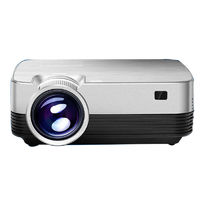 E-Jiale Q6H LCD Projector 150 Inch Support 1080P Wifi Andriod 7.1 Same Screen Technology Office Home Theater Projector