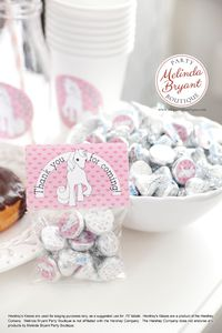 Unicorn Party Stickers .75 inch Girls Birthday Decor Candy Favor Kits Treat Toppers and Bags with Labels Baby First Birthday Decorations $7.48
