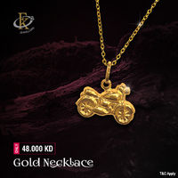 Gift Jewelry for Her and for any ladies you loved in your family. �–� Product type: Gold Pendant Set  �–� Price: 48.000KD �–� Weight: 2.550 Grams �–� Free Delivery �–� Karat: 18 Karat �–� Part Number: FKJNKL1493 ...