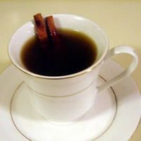 Hot Spiked Cider Allrecipes.com. Great for holidays - steeps all day on the stove and also makes the house smell great.