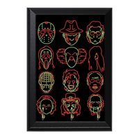 Horror Heads Decorative Wall Plaque Key Holder Hanger $15.00 https://www.nurdtyme.com