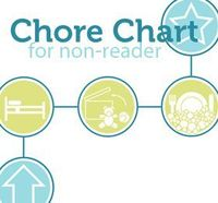 Picture Chore Chart for Non-Readers free printable. the best I have seen for free so far