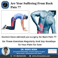 Doctors have advised You surgery for back Pain ? Do these Exercises regularly and say goodbye To Your Pain For Ever https://www.youtube.com/channel/UCV3 b0eETTtfdXsfuhmBfiA URL: https://www.orthosport.in/
