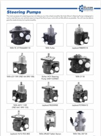 Get the best & top quality steering pump spare parts from the best manufacturer and suppliers in India. If you want to know more details, you can visit our website or call us at:- (+91) 9810656232.