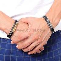 Gullei.com Matching Friendship Bracelets Gift for Couples