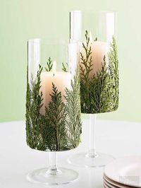 Light up your home for Christmas with these unique ideas for adding candles to your festive holiday decor.