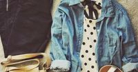 3 Black and White Outfits to Wear to an Outdoor Concert Teen fashion Cute Dress! Clothes Casual Outift for �€� teens �€� movies �€� girls �€� women �€�. summer �€� fall �€� spring �€� winter �€� outfit...
