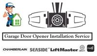 Garage Door Opener Installation Service $150.00