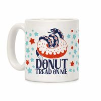 �œ� Handcrafted in USA! �œ� Support American Artisans Donut Tread on Me Ceramic Coffee Mug $14.99