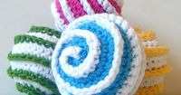 "Ravelry: Toy Ball Crochet Pattern ""Galaxy Spiral Prototypes"" pattern by Abigail Gonzalez"