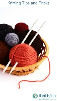This is a guide about knitting tips and tricks. Even experienced knitters can appreciate a new technique or tool to use in their craft.