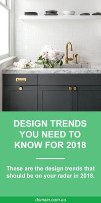 In 2018, interior style is all about rejecting conformity to achieve a particular �€œlook�€ and embracing imperfections. Individual touches have never been so big and anything with a touch of whimsy gets full marks. Basically, 2018 is bri...
