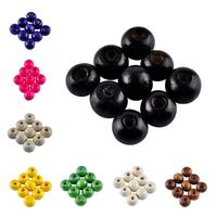 50 x Assorted Candy Colours Round Wooden Beads. 8mm x 6mm Spacers w/ 2mm Hole. Different Colours Available. Create Unique Jewellery & Crafts £2.29