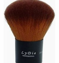 LyDia professional black kabuki buffer face loose powder cosmetic makeup brush F06 A full, dome-shaped brush of extra soft hair. Specially created to flawlessly blend powder onto the skin for an immaculate polished finish. Excellent for all powders and &#...