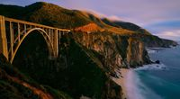 Bixby Bridge desktop hd picture wallpaper