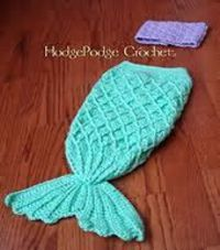 Easy Crochet Cocoon Patterns Free | Thread: Looking for the mermaid pattern for a new born.